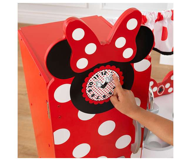 Minnie Mouse Play Kitchen: KidKraft Disney Jr. Minnie Mouse Vintage Kitchen Set : KDK