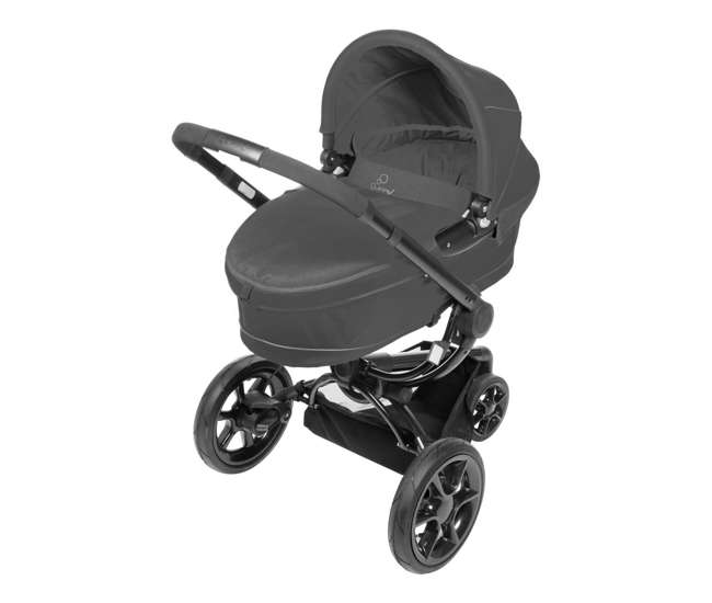 CV078BFO + Spirit-BlackQuinny Moodd Baby Stroller & BabyBjorn Carrier - Original, Spirit - Black