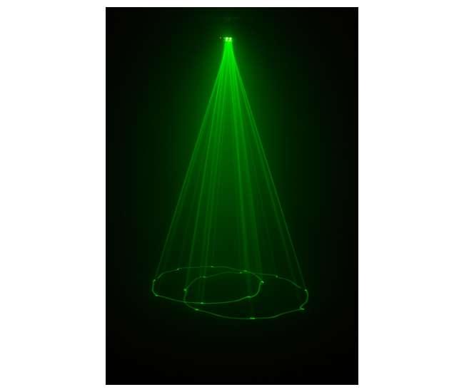 SCORPION-DUAL + H700 Chauvet DJ Scorpion Dual Effect Laser w/ H700 Fog Machine