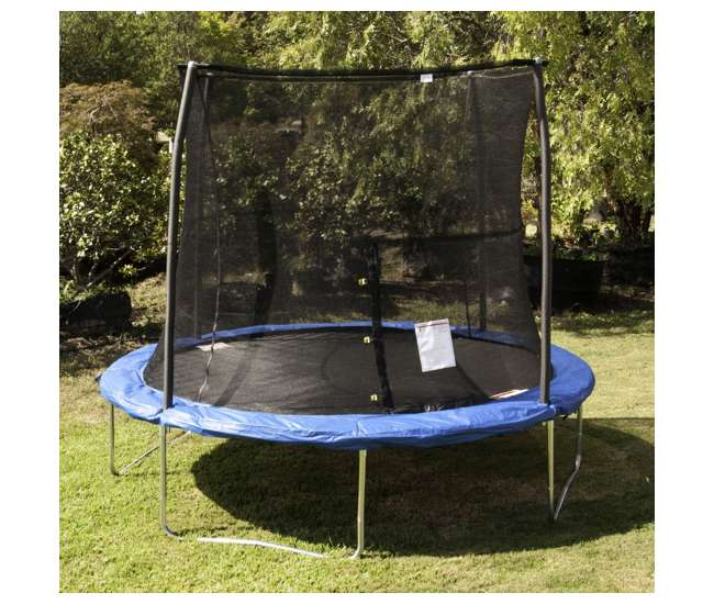 JumpKing 10 Foot Outdoor Trampoline And Safety Net