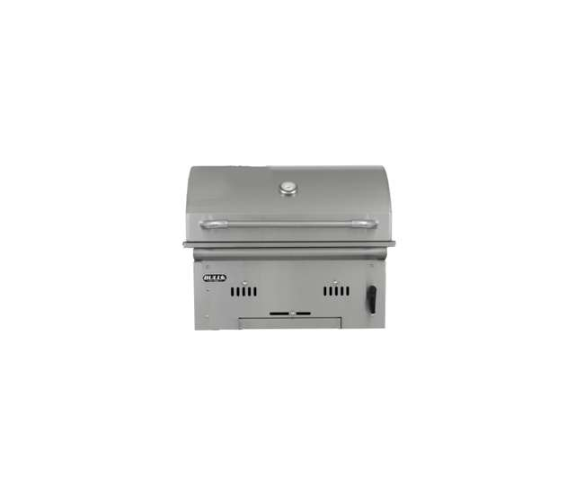 Bop 88787 Bull Outdoor Products Stainless Bison Charcoal Grill