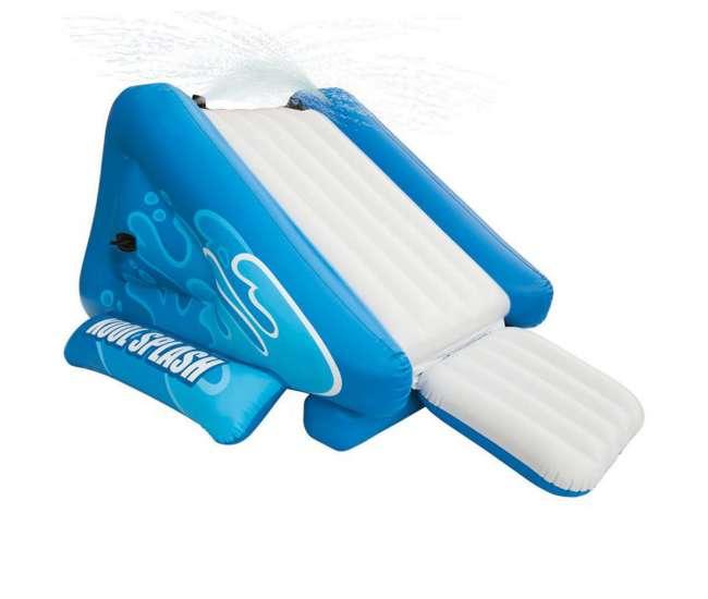 intex water slide kool splash inflatable pool water slide 58851ep. Black Bedroom Furniture Sets. Home Design Ideas