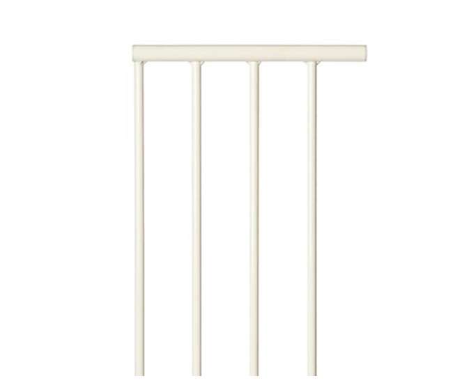 4995 North States Supergate Easy Close 10.5-Inch White Safety Gate Extension