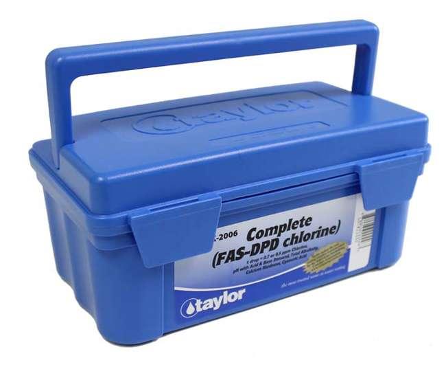 Taylor K 2006 Complete Pool Test Kit Fas Dpd K2006