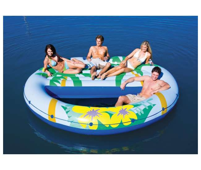 oasis pool lounger intex island oasis floating pool lounge 1151