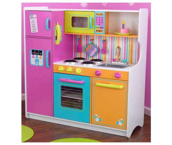 KidKraft Deluxe Big Amp Bright Kitchen 53100
