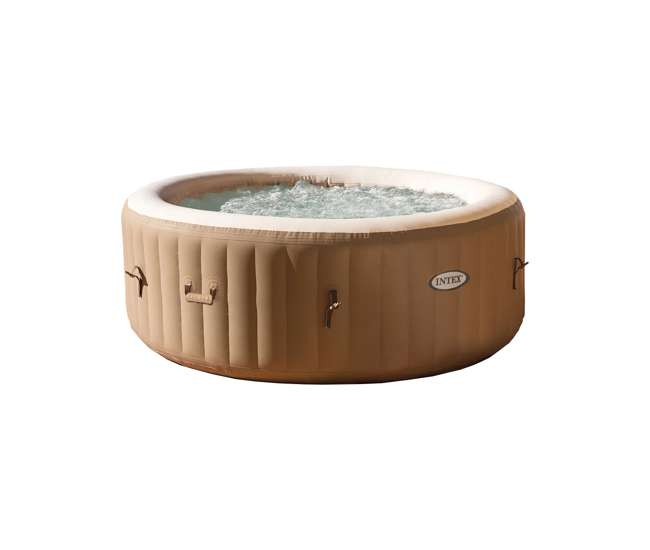 Intex pure spa inflatable 4 person hot tub 28403e - Pure spa intex ...