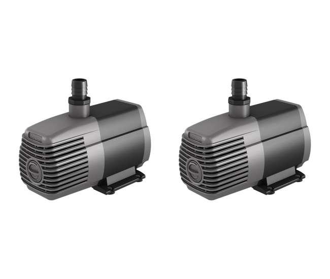 Active aqua submersible pump 2 hydrofarm 1000gph for Hydroponic submersible pump