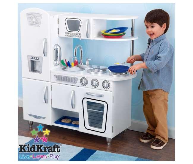 Kidkraft Kitchen White 28+ [ kidkraft white retro kitchen ] | product description page