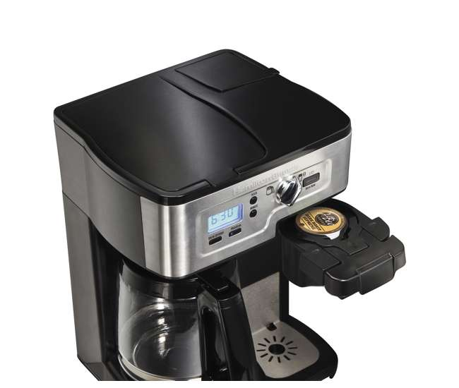 49983 Hamilton Beach FlexBrew K-Cup 1-12 Cup Coffeemaker
