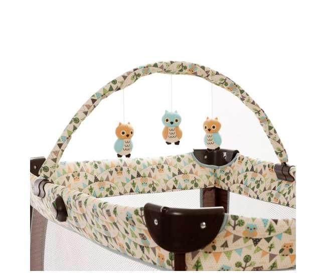 PY206AFWSafety 1st Prelude Play Yard & Travel Crib - Owls   PY206AFW