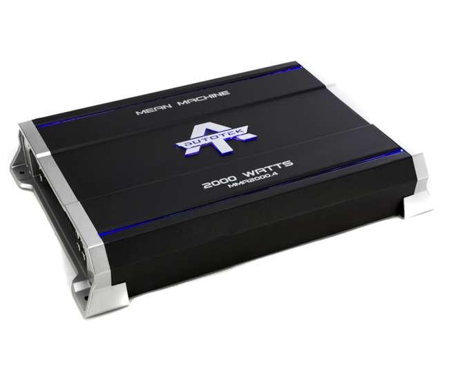 Mean Machine Amps : autotek 2000 watt 4 channel mean machine amplifier mma2000 4 ~ Vivirlamusica.com Haus und Dekorationen