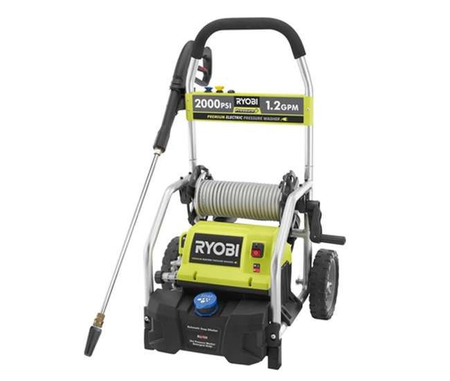 Ryobi Ry141900 2000 Psi 1 2 Gpm Electric Power Washer