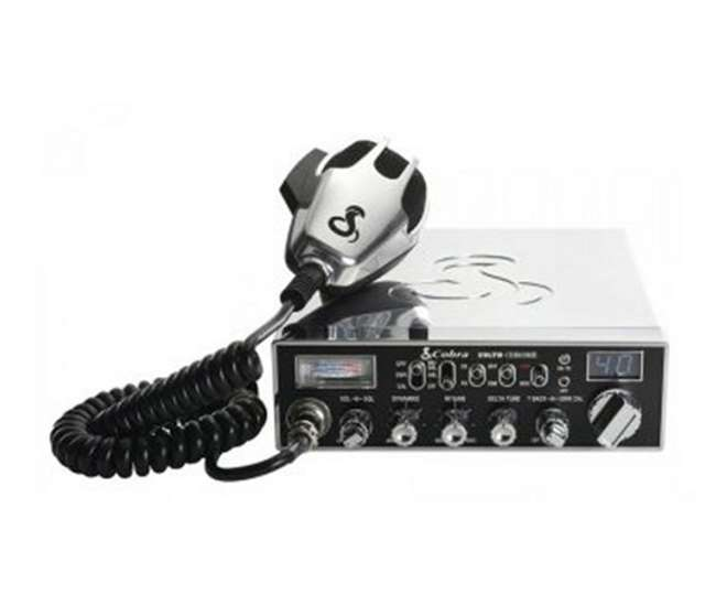 29LXCHRCobra 29 Chrome LX/LE 40 Channel 4 Color LCD CB Radio