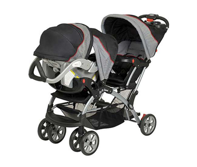 Baby Trend Sit N Stand Double Stroller Millennium