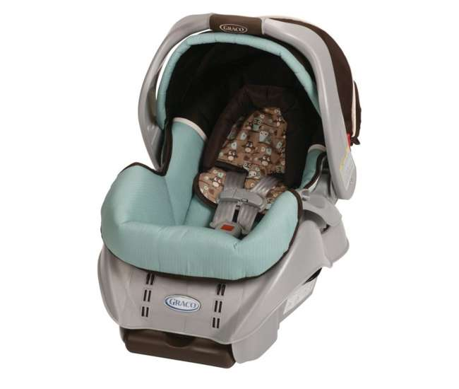 1852300-U-AA Graco SnugRide 22 Classic Connect Baby Infant Seat - Little Hoot - Open Box