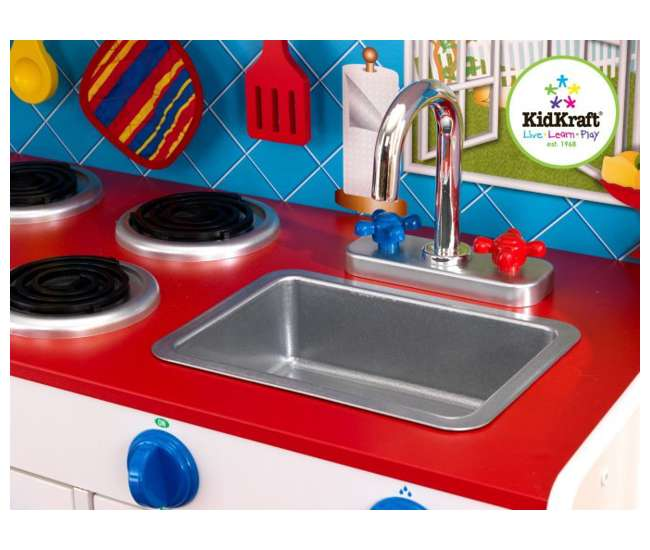 Kidkraft Deluxe Let S Cook Kitchen Amp Baking Set