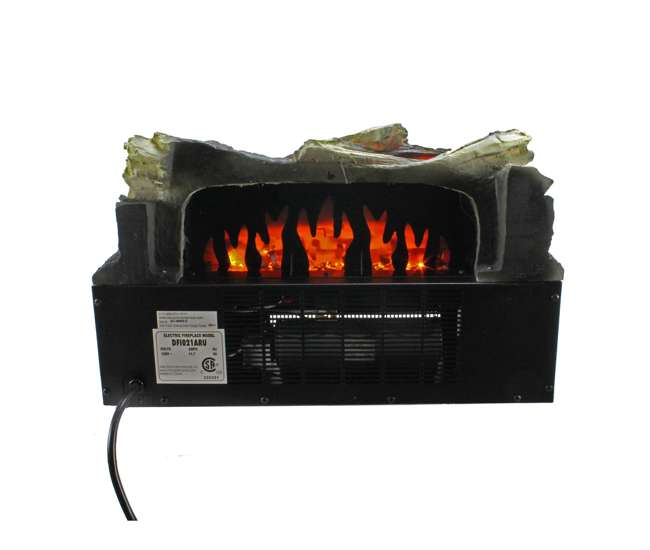 duraflame electric fireplace 20 inch led log insert with