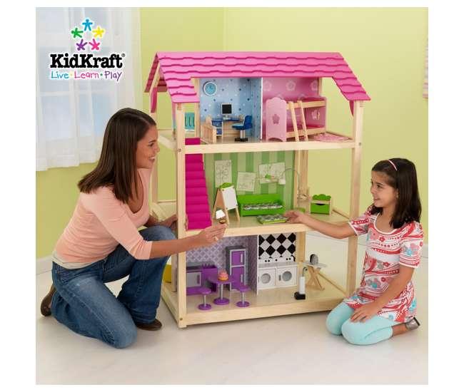 65078KidKraft So Chic Deluxe Pretend Play Dollhouse