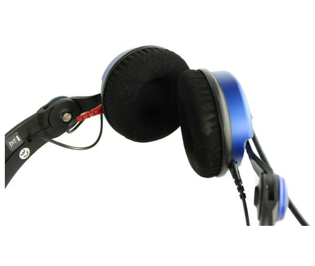 AMPBLUE-RB Sennheiser HD 25 Amperior DJ Pro Monitoring Headphones - Blue (Refurbished)