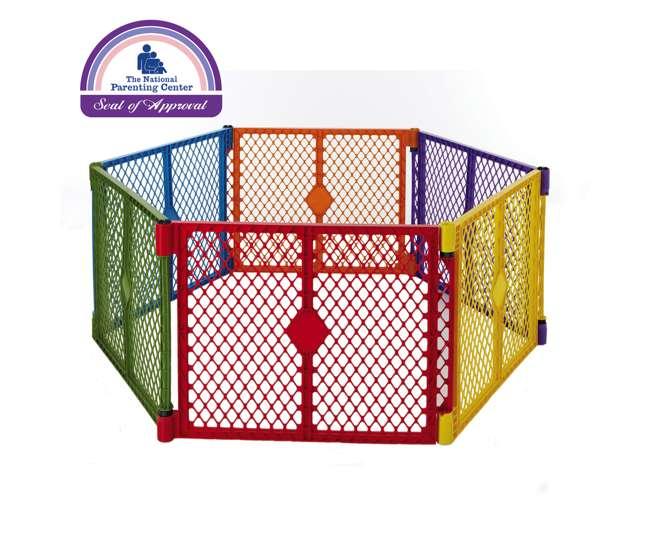 8769 North States Color Superyard Baby/Pet Gate - 6 Panel | 8769