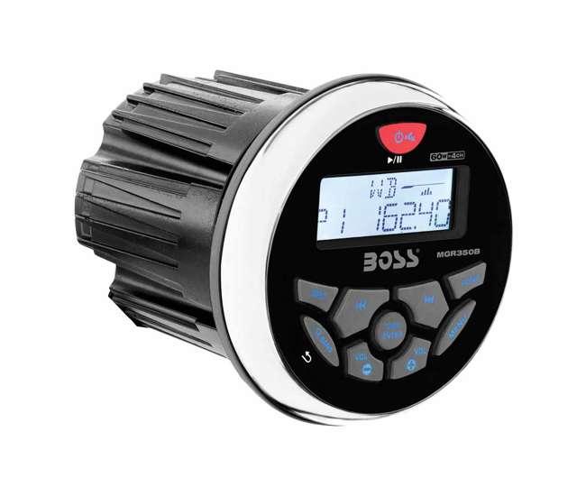 MGR350B Boss Audio MGR350B 3-Inch Gauge Marine MP3/Radio Stereo Bluetooth Atv Boat Receiver
