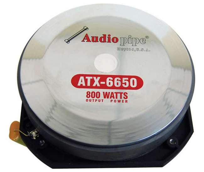 ATX6650Audiopipe ATX-6650 1600W Titanium Super Tweeters (Pair)