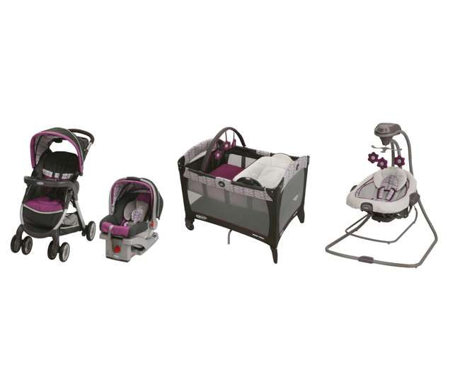 Graco Stroller, SnugRide Car Seat, Pack 'n Play & Baby