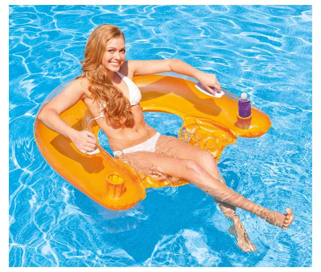 Intex Sit 39 N Float Inflatable Lounger 58859ep