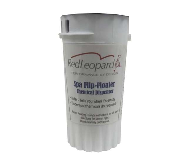 Swimming Pool Spa Chlorine Bromine Flip Floater Chemical Tab Dispenser F10008 Rl F10008