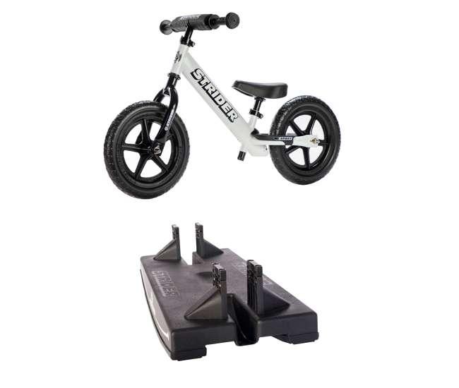 Strider 12/Sports Balance Bike White