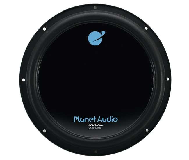 AC12D Planet Audio AC12D 12 Inch 1800 Watts 4 Ohm Dual Voice Coil Car Audio Subwoofer