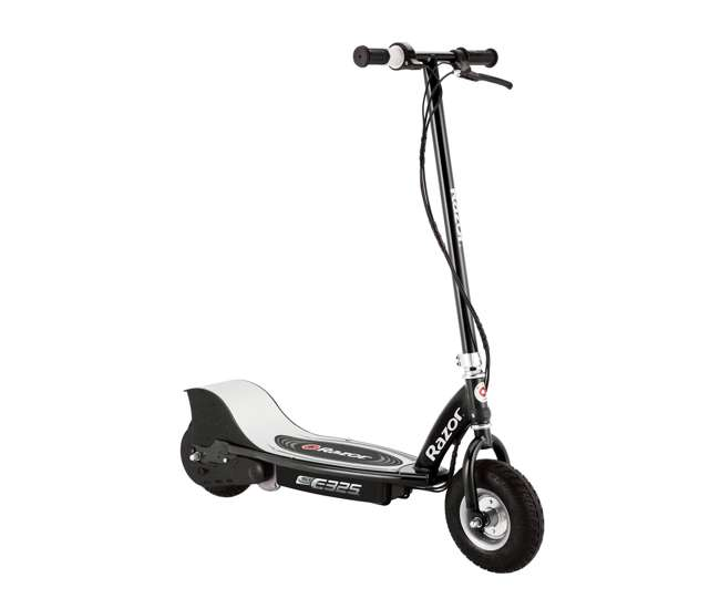 13116397 Razor E325 Adult Ride-On 24V High-Torque Motor Electric Powered Scooter, Black