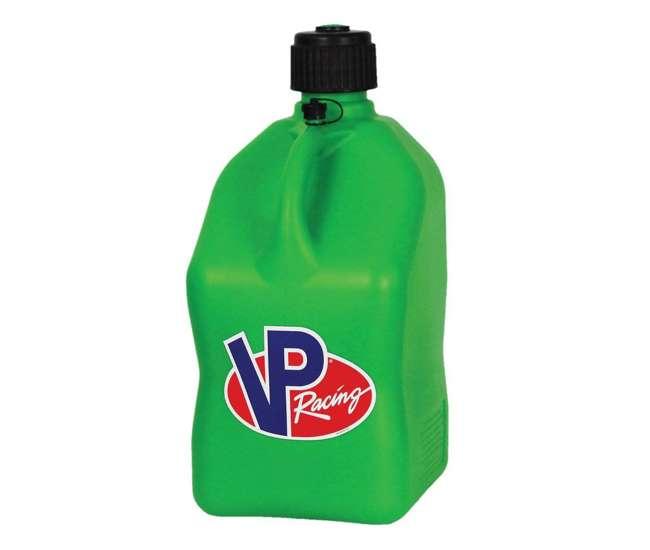 3562 VP Racing 5 Gallon Motorsport Racing Liquid Container Utility Jug Can, Green