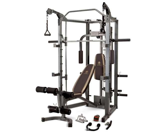 Marcy Combo Smith Strength Home Gym Machine, SM-4008
