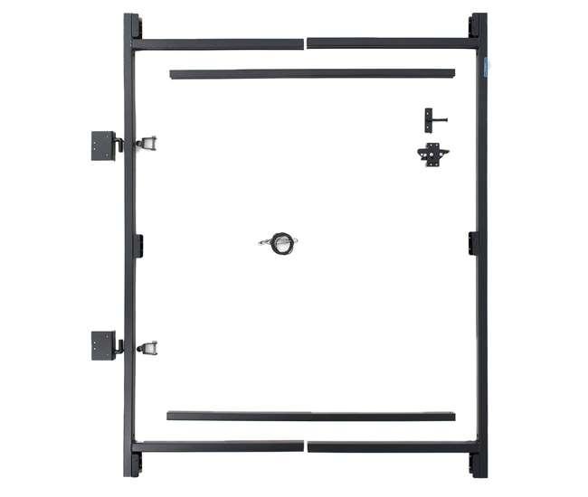 AG36-3 Adjust-A-Gate Steel Frame Gate Building Kit, 36