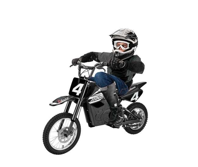 15165001 Razor MX650 Dirt Rocket High-Torque Electric Motocross Dirt Bike, 17 MPH, Black