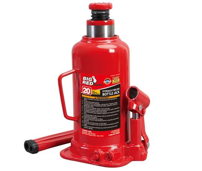 20 Ton Capacity Torin Big Red Hydraulic Bottle Jack
