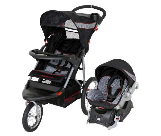 Baby Trend Expedition Travel System, Baby Trend Expedition Jogging Stroller Compatible With Chicco Car Seat