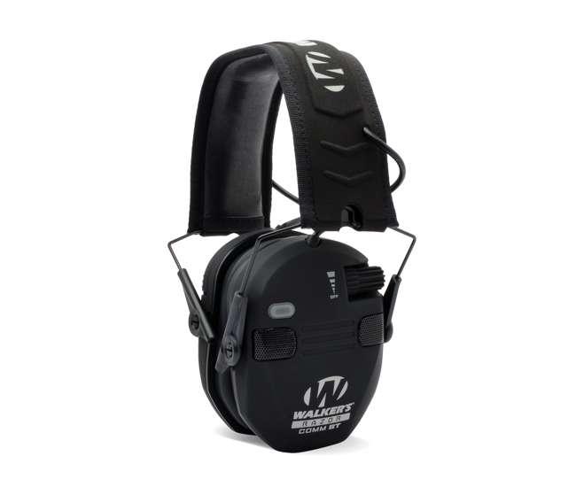 GWP-RSEQM-BT Walker's Razor Slim Electronic Bluetooth Shooting Ear Protection Muff, Black