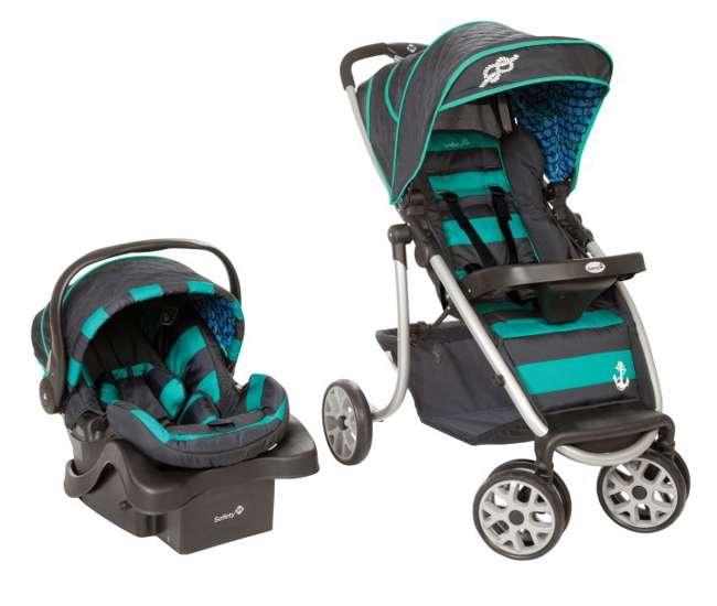 Safety 1st Aerolite Baby Stroller Car Seat Travel System Sail Away