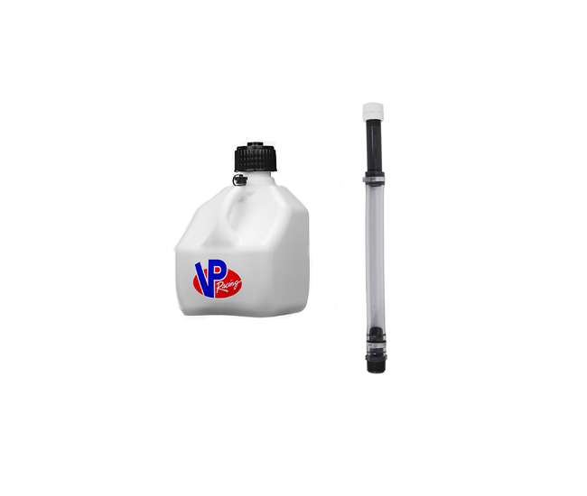 VP Racing Fuels 3 Gallon Heavy Duty Racing Utility Jug and 14 Inch Hose Kit