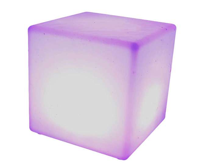 131784 Main Access 16 Inch Block Seat Pool Spa Weatherproof Color Changing LED Cube
