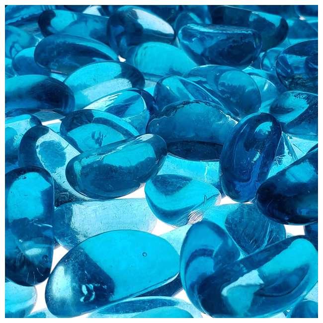 67994 Bond Manufacturing 67994 LavaGlass Mini 10 Pound Fire Pit Glass, Bodega Blue 1