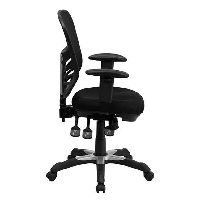 HL-0001-GG-U-A Flash Furniture Mesh Seat Executive Office Swivel Chair, Black (Open Box) 1
