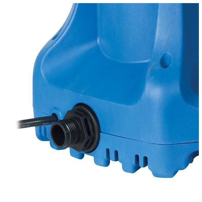 5 x LG-577301 Little Giant Automatic 1700 GPH Swimming Pool Winter Cover Water Pump (5 Pack) 2