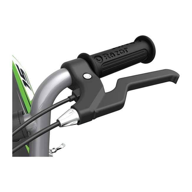 15128030 + 97775 Razor MX400 Dirt Rocket Moto Bike & Full Face Helmet 9