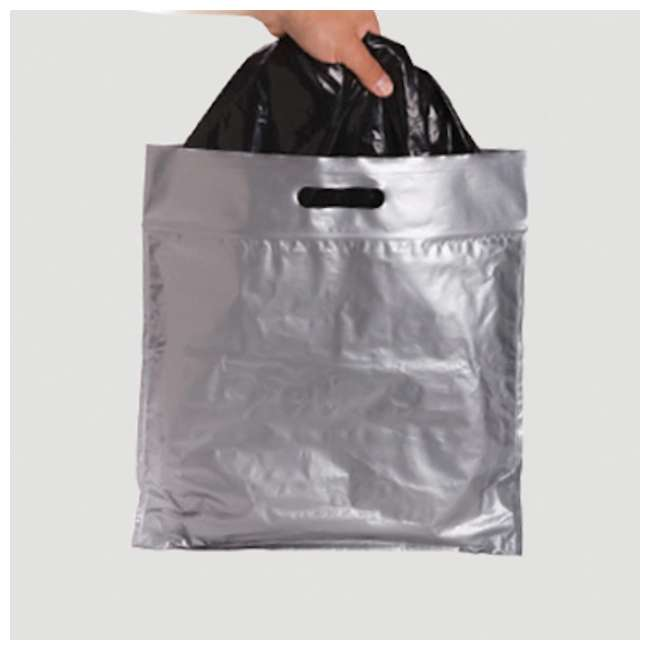 2684-03 Reliance Products Double Doodie Plus Large Capacity Toilet Waste Bags, Gray