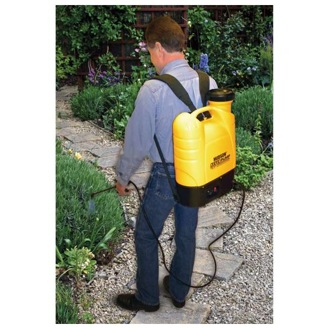 HDH-13854 Hudson  NeverPump Bak-Pak Battery Powered Sprayer  2