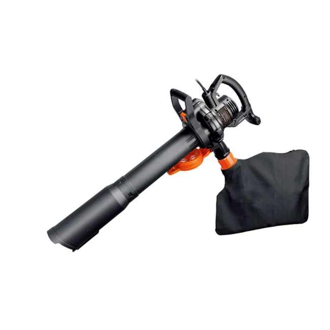 WG507 Worx WG507 Electric 2 Speed 12 Amp Home Handheld Leaf Blower Mulcher and Vacuum 2